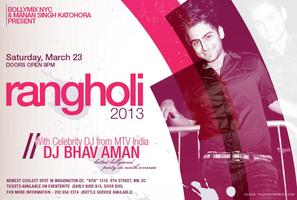 "!! ""RANGHOLI 2013"" - Hottest Bollywood Dance Party..."