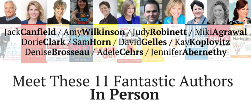 Meet These 11 Fantastic Authors In Person