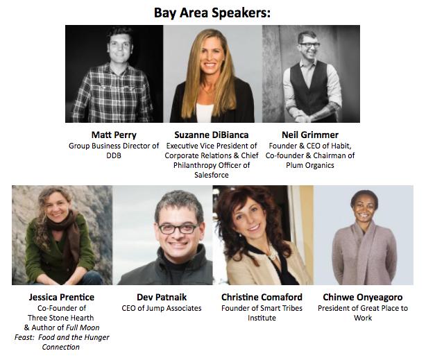 Bay Area Speakers List