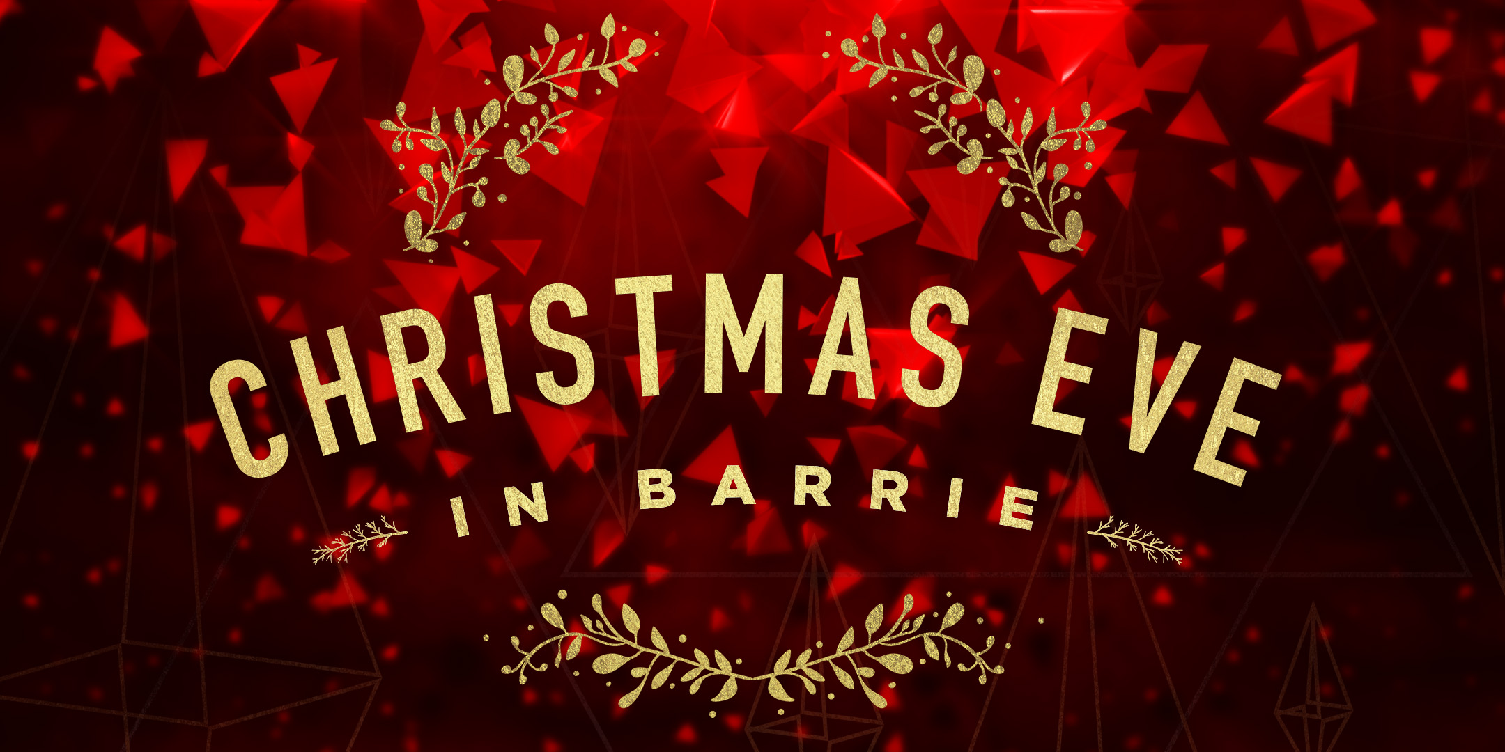 Christmas Eve In Barrie Graphic