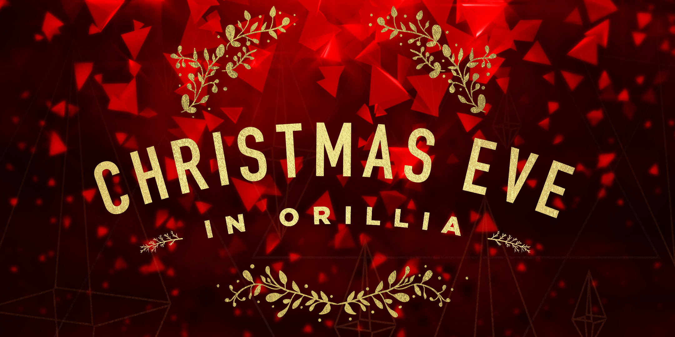 Christmas Eve In Orillia Graphic