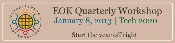 EOK 1st Quarter Workshop - 2013