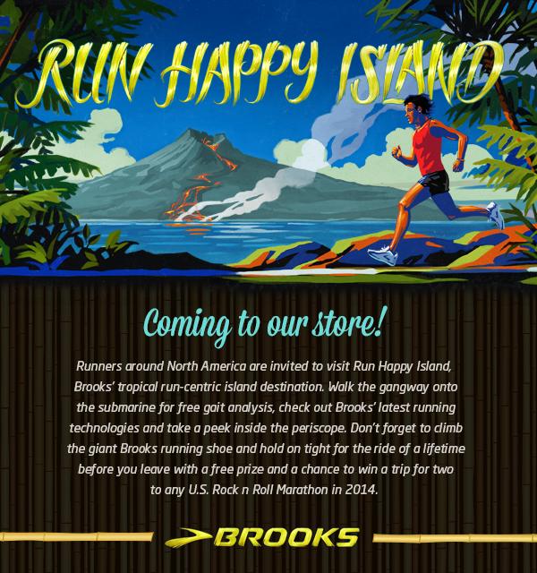 Run Happy Island Tour