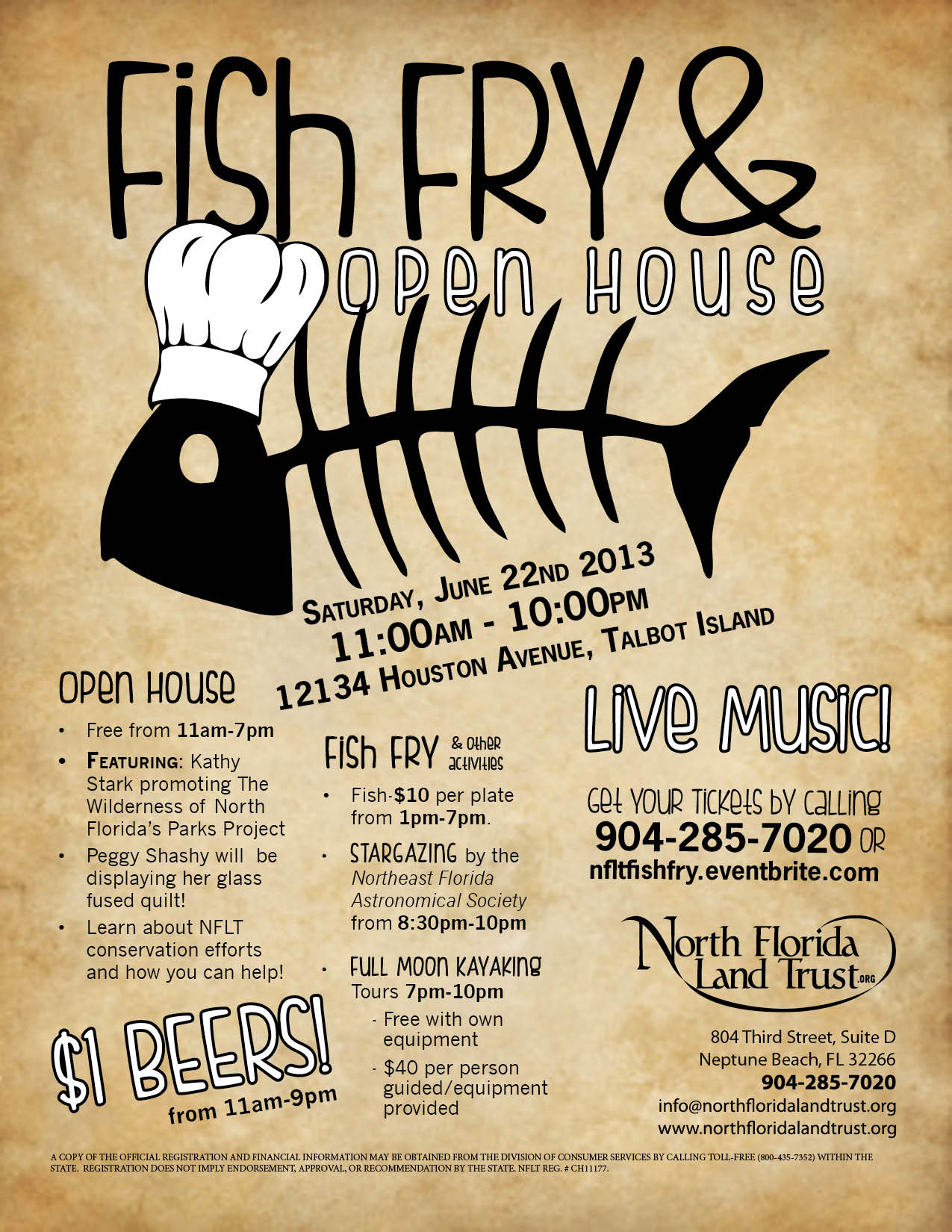 Poster for Fish Fry and Open House