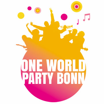 Logo-One World Party Bonn