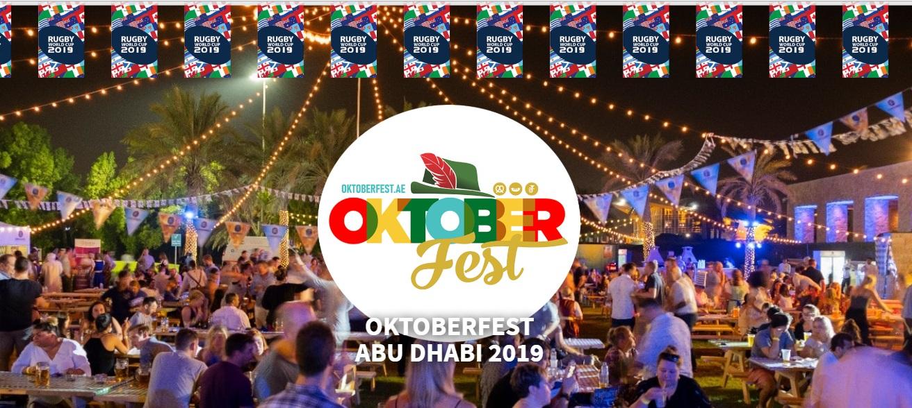 RWC2019 Rugby World Cup 2019 Abu Dhabi Oktoberfest