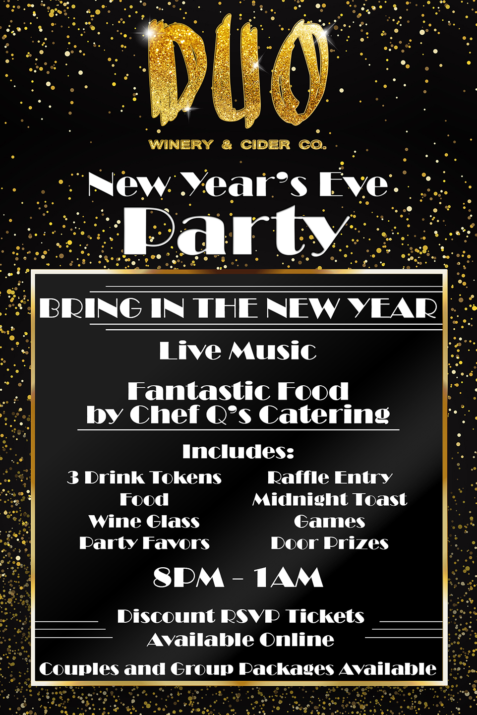 NYE Party Flier