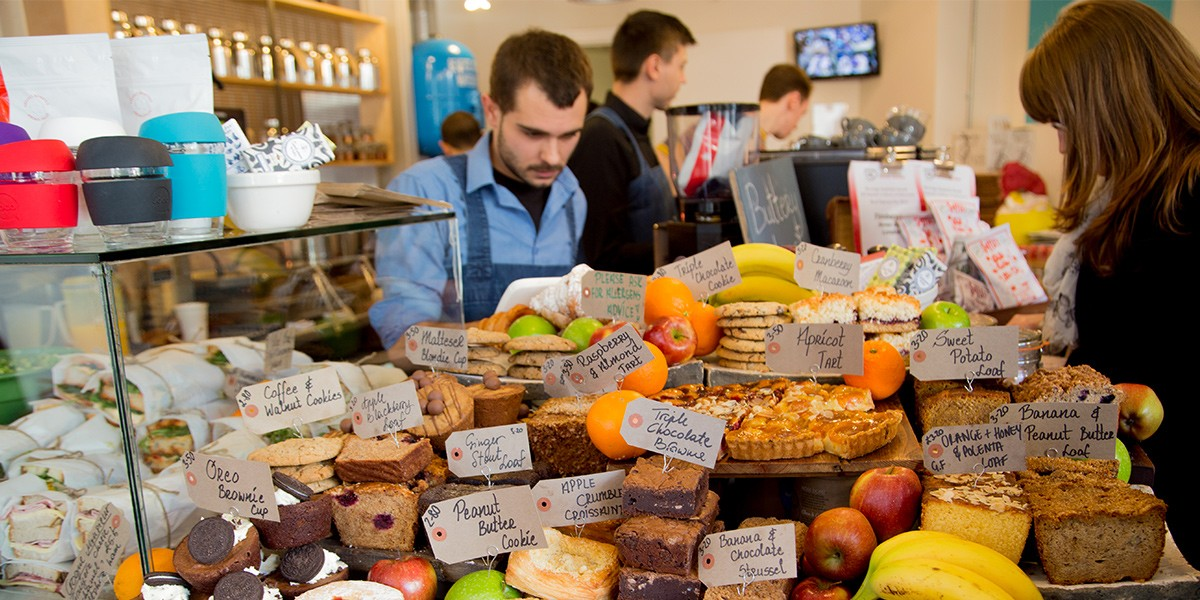 Image of the Timberyard food display