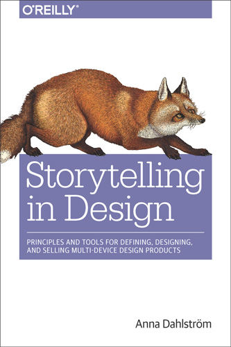 Book cover Storytelling In Design