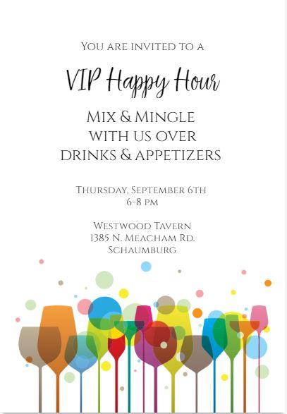 Happy Hour Invite