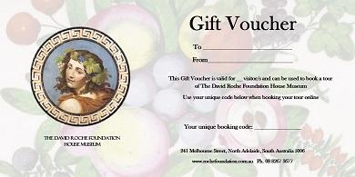Gift voucher (fruit design)