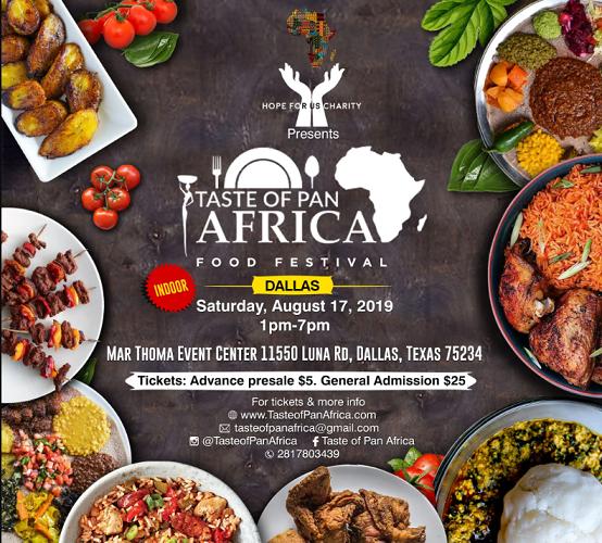 Taste of pan africa dallas