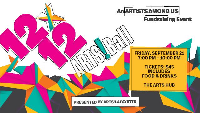 12x12 ARTS!Ball Event