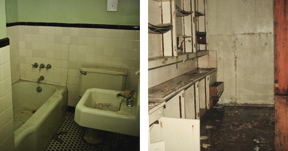 Inside St. Albans Sanatorium