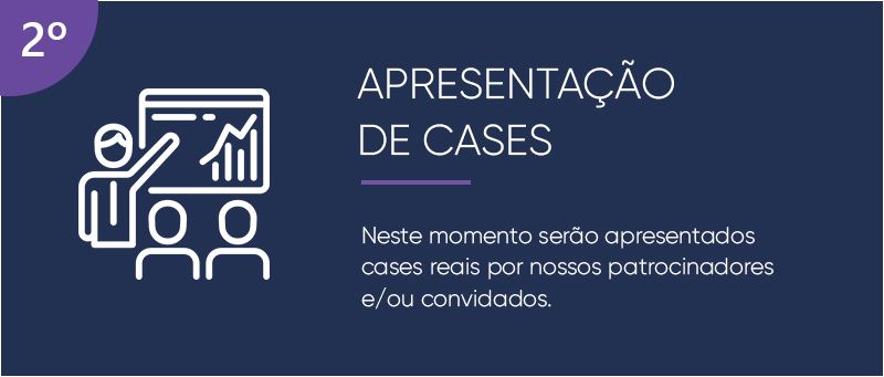 APRESENTAÇÃO DE CASES