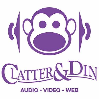 Clatter & Din logo
