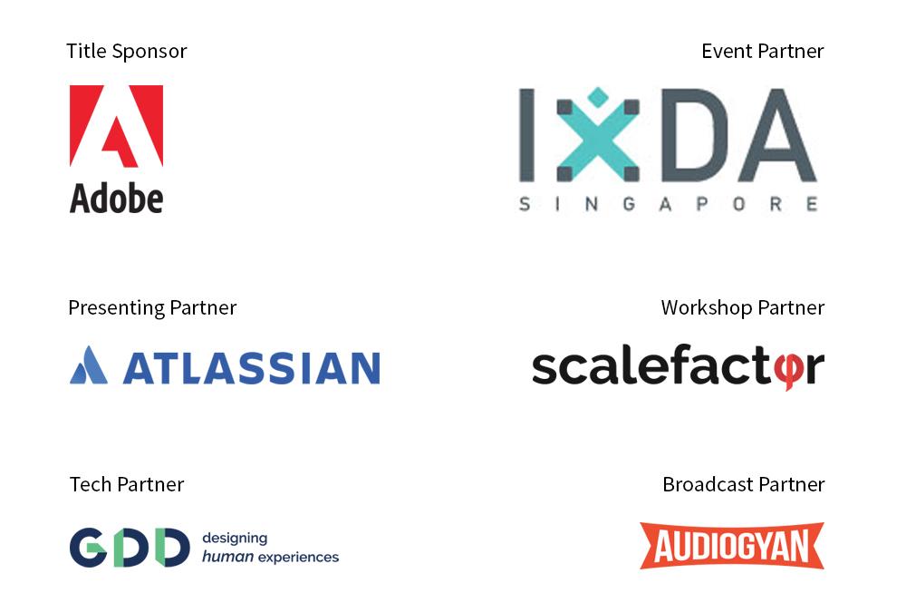DesignUp Sponsors & Partners