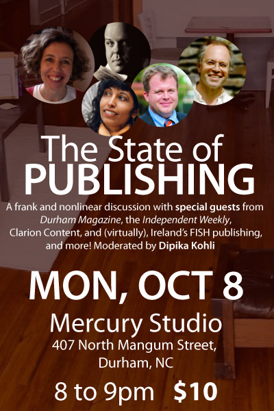 State of Publishing: A roundtable on October 8