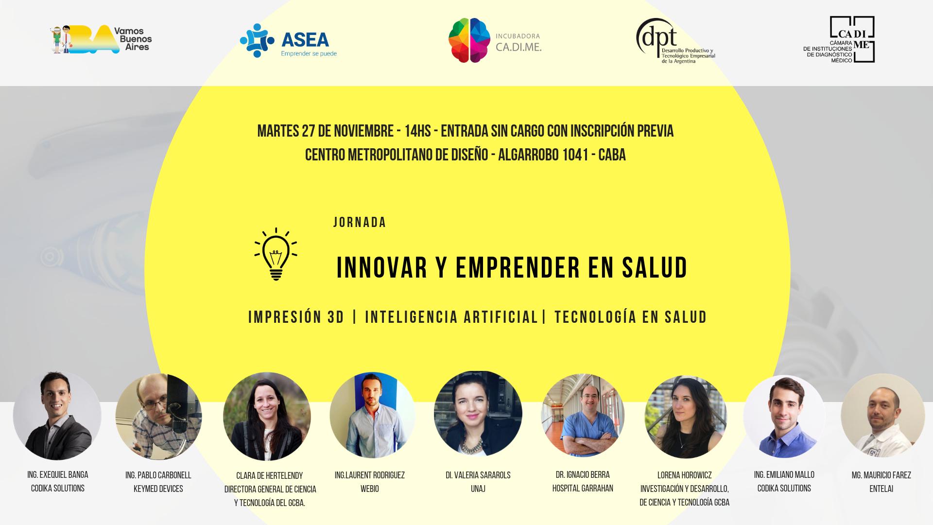 innovar y emprender en salud