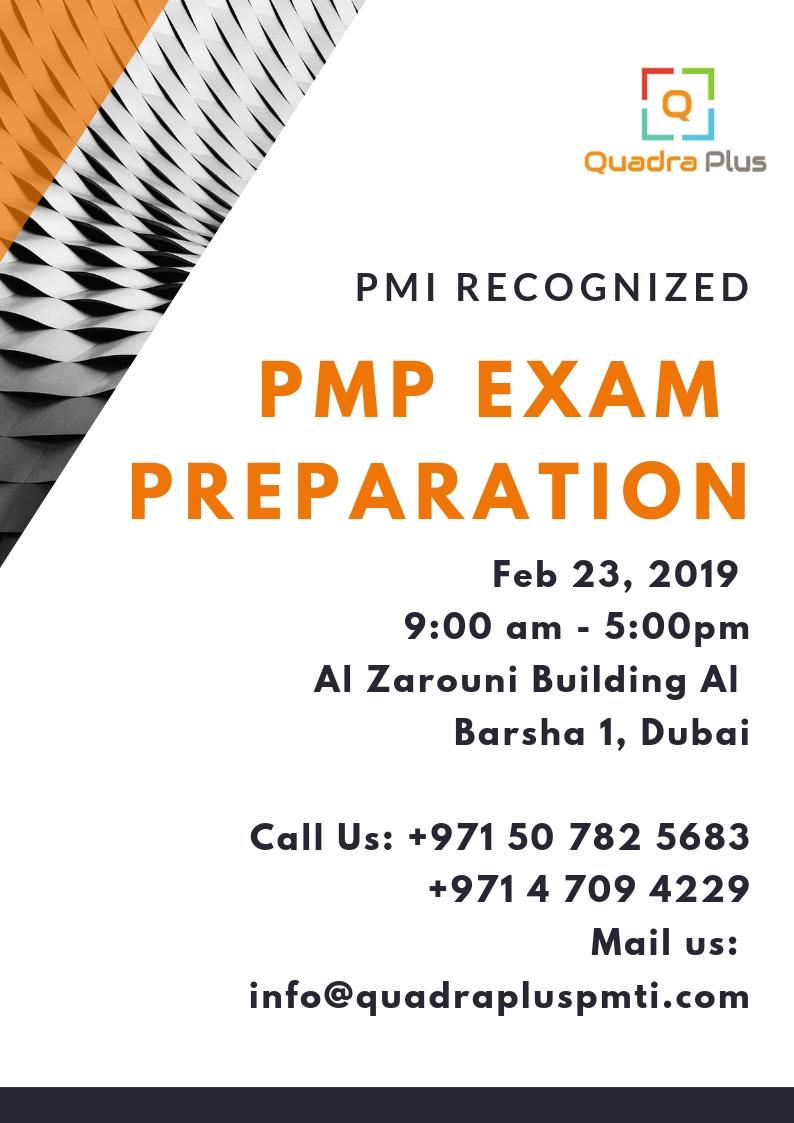 Project Management Professional Pmp Exam Preparation Training