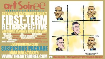 FIRST-TERM RETROSPECTIVE:   3rd Annual Cartoonist Exhibit