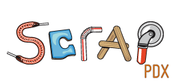 SCRAP PDX Logo