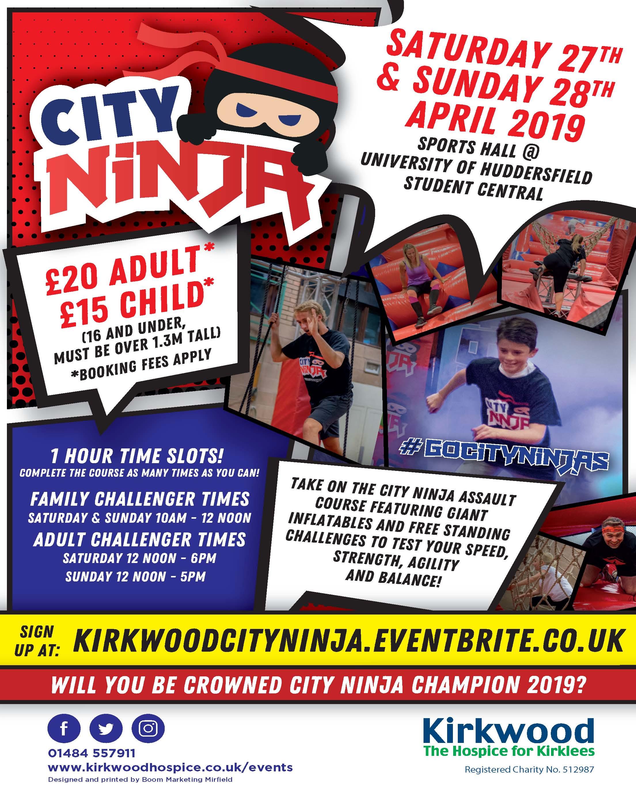 City Ninja leaflet