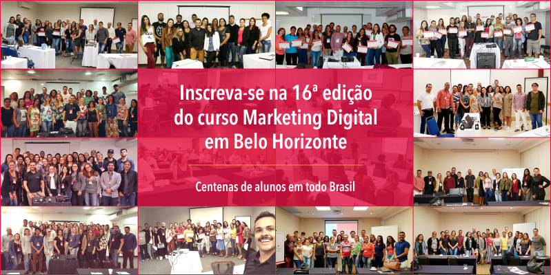 Alunos Curso Marketing Digital BH - Prática Digital