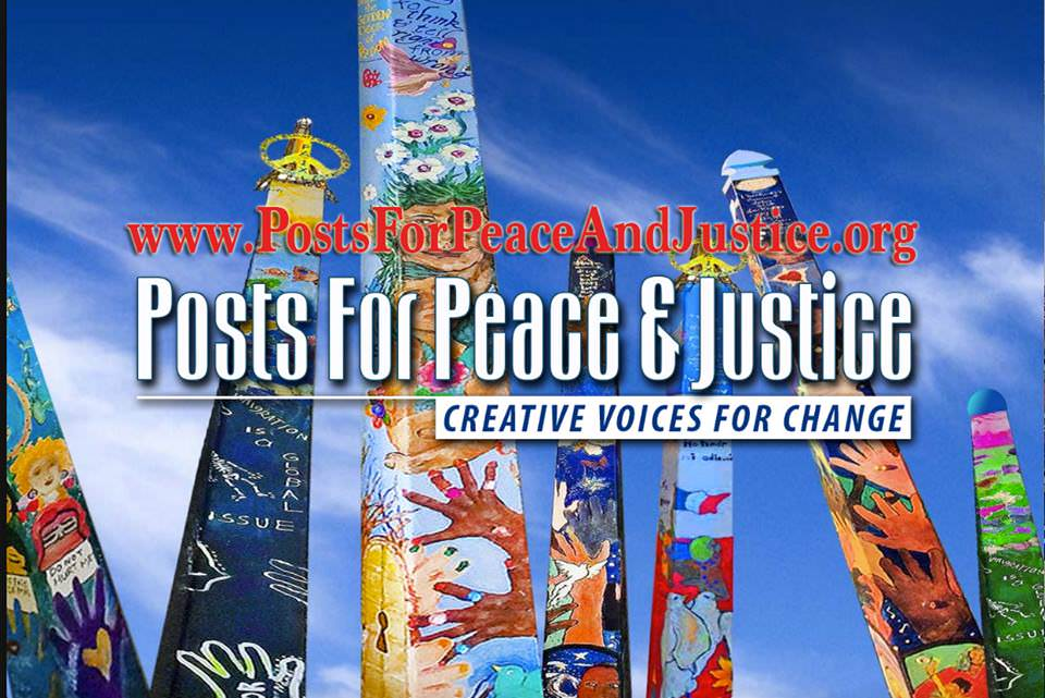 Posts for Peace and Justice banner