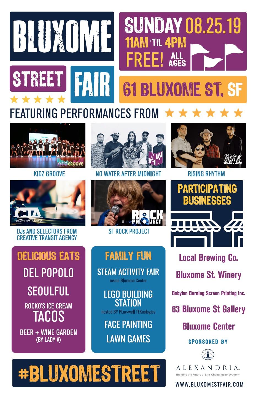 Bluxome Street Fair 2019