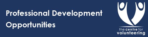 CFV Professional Development Banner