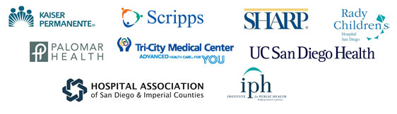 Logos of participating medical groups
