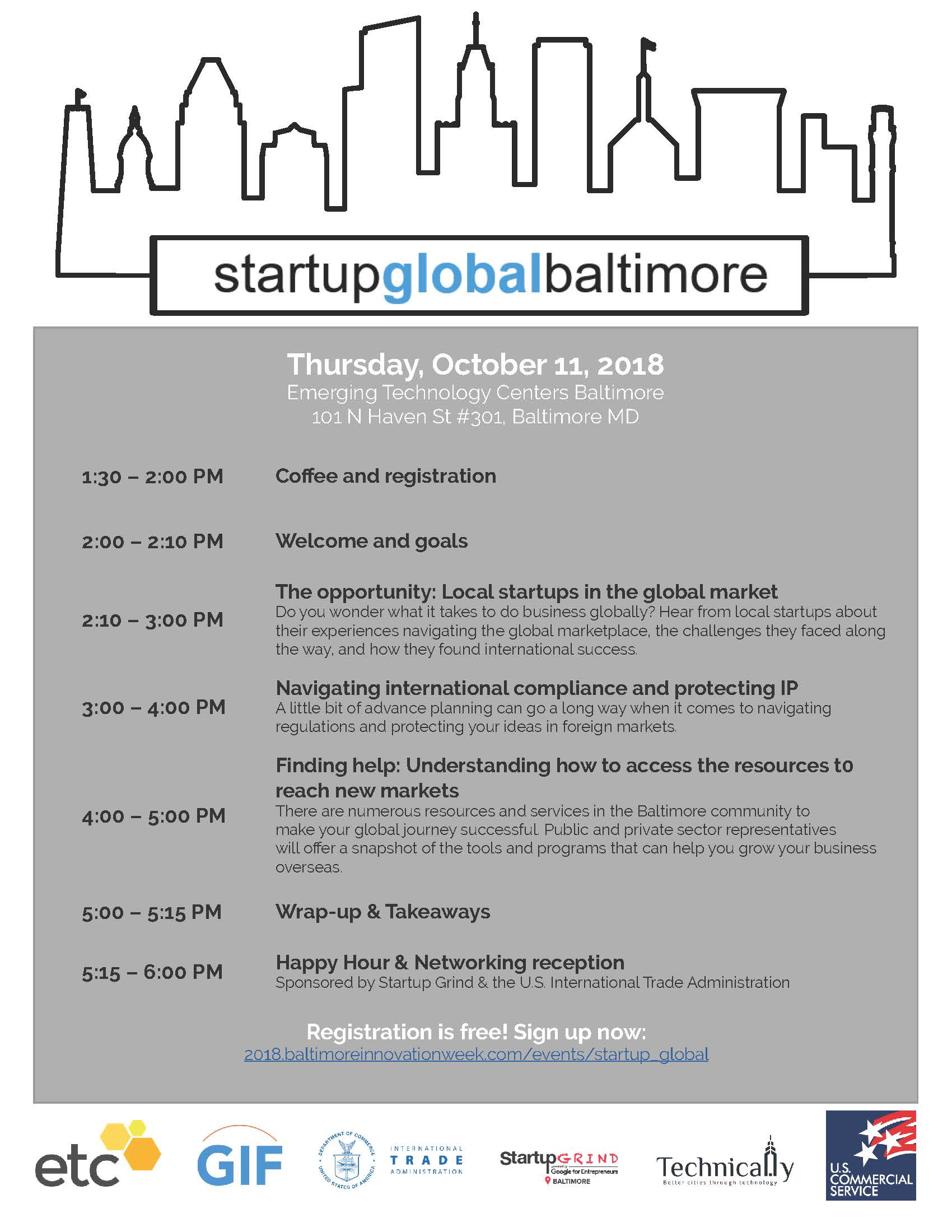 Startup Global Flyer