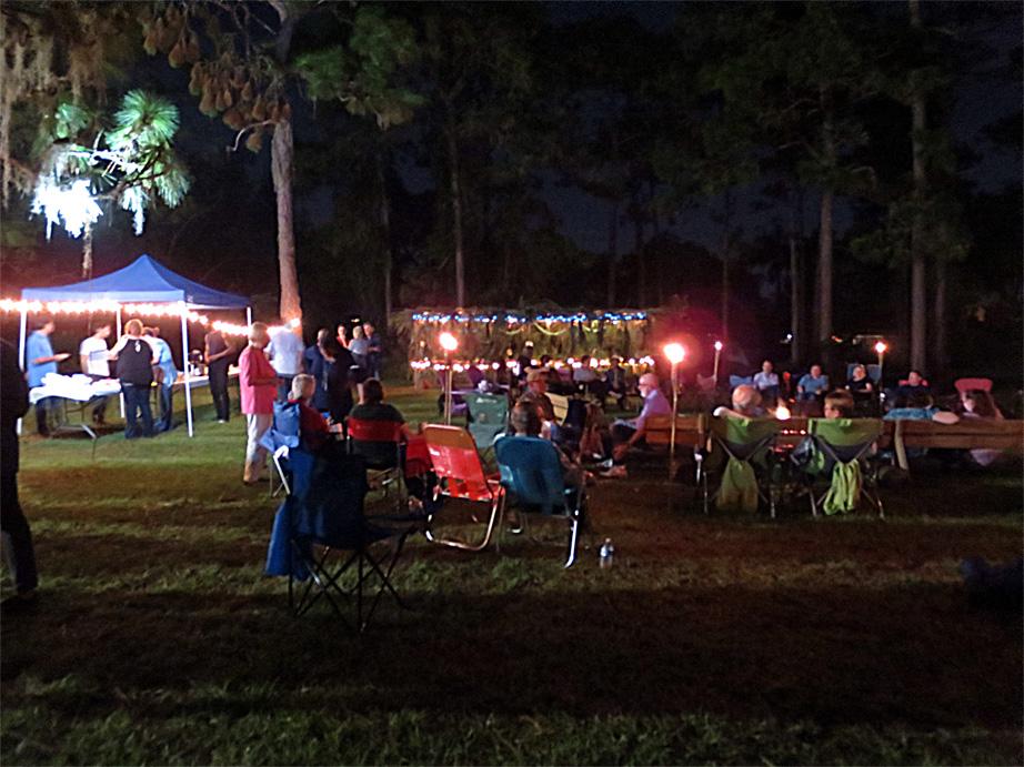 Shabbat oneg & campfire fellowship
