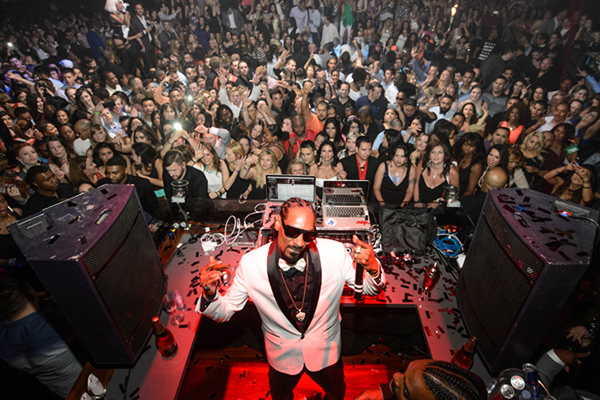 Snoop Dogg Tao Vegas
