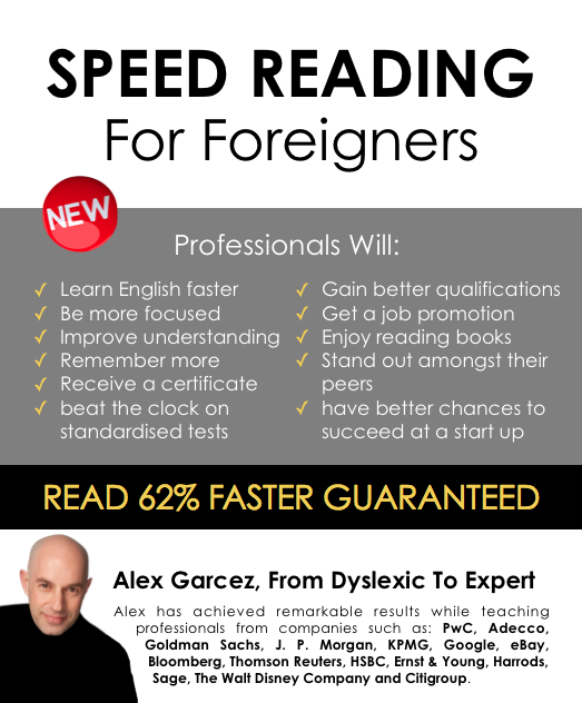 Speed Reading for Foreigners