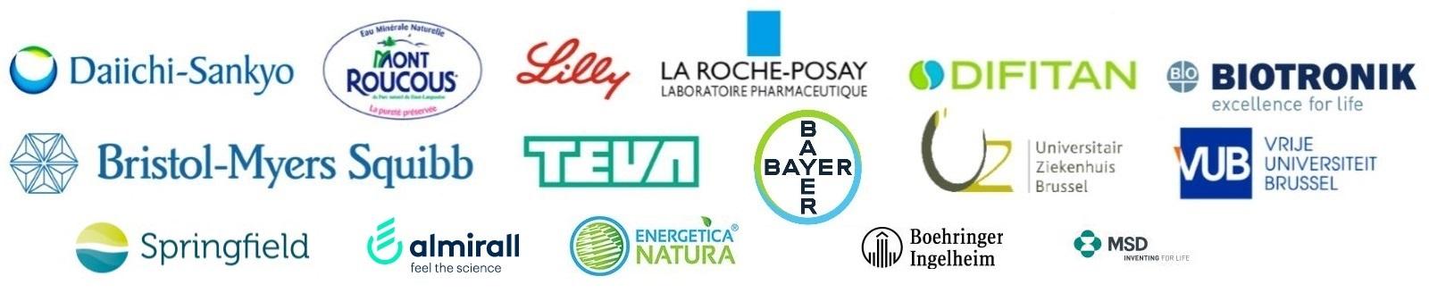 De sponsors van het LifeMe Congres 2019