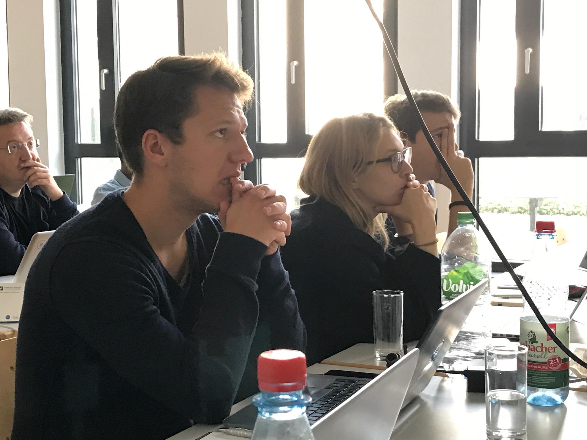 Unsere Workshopteilnehmer der Ethereum Developer Week