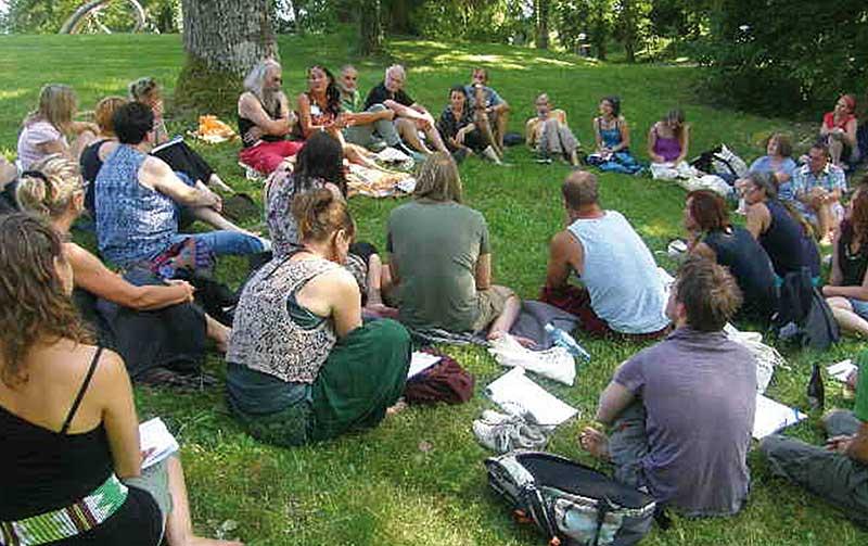 Workshop im Schlossgarten