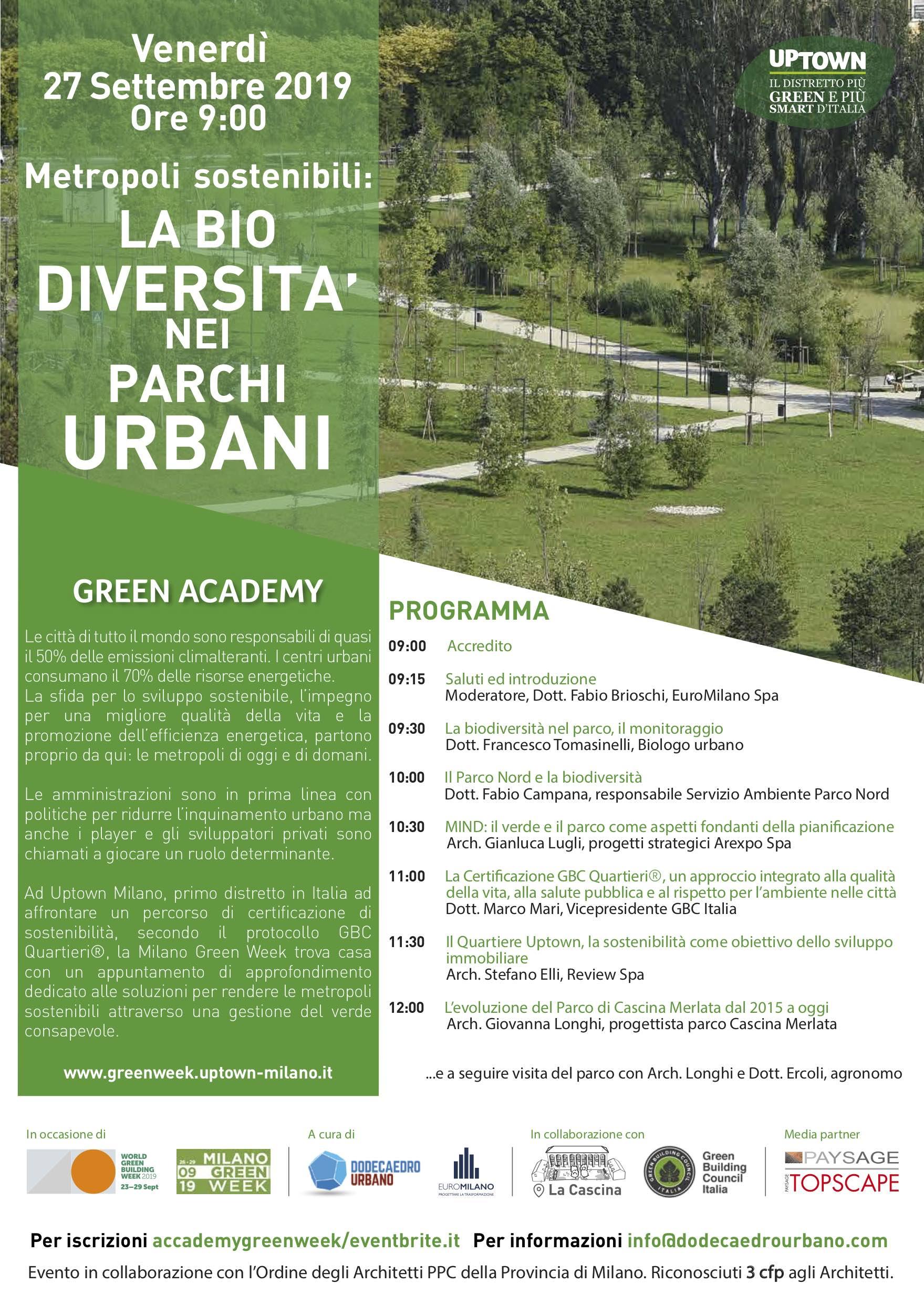 Locandina Greenweek