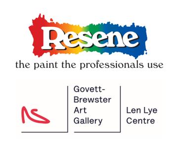 Sponsor Logos - Resene and Len Lye