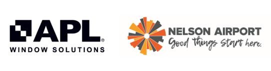 Sponsor Logos - APL & Nelson Airport