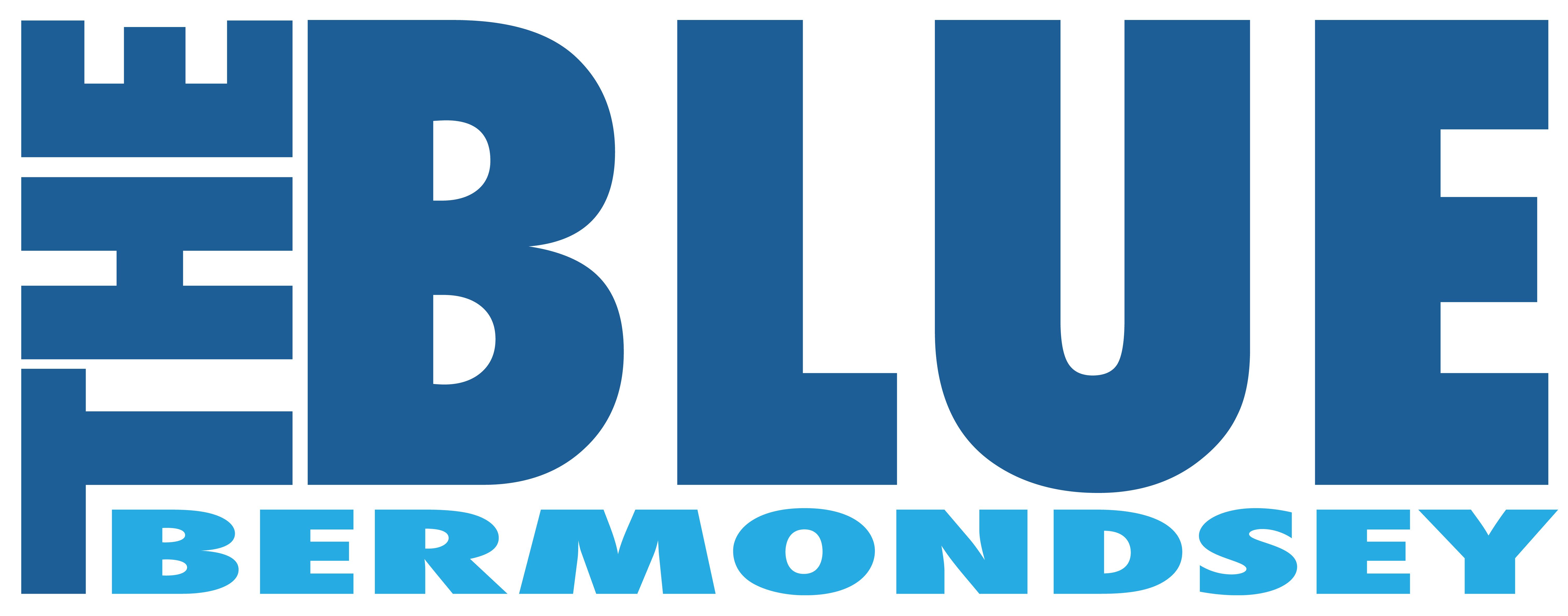 Blue Bermondsey BID logo