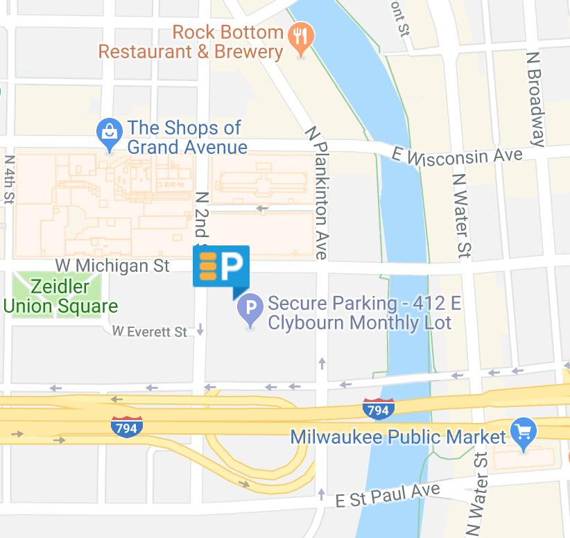 Night Market Parking Map