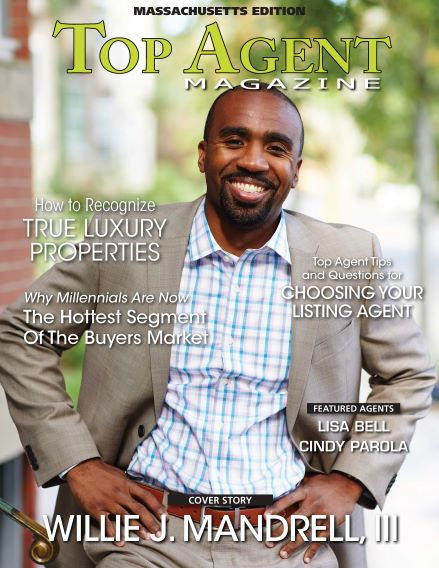 Willie Mandrell Top Agent Magazine Feature