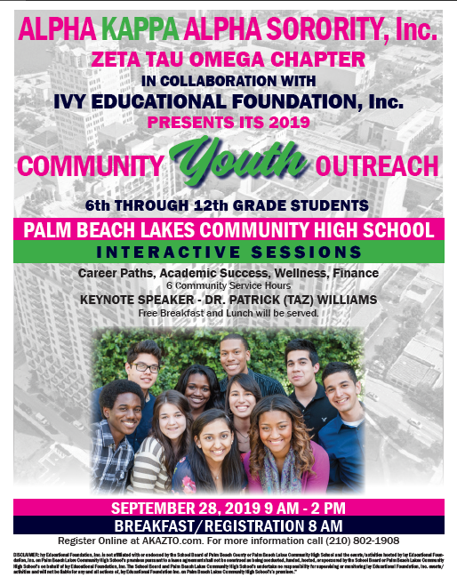 Community Youth Outreach 2019
