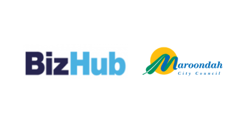 BizHub and Maroondah Logo