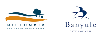 Nillumbik and Banyule logo