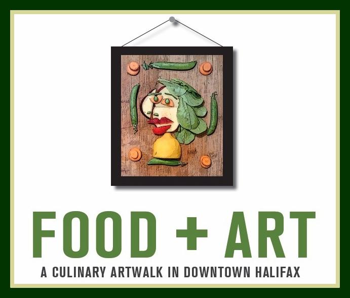 Food+Art Culinary Artwalk in Downtown Halifax