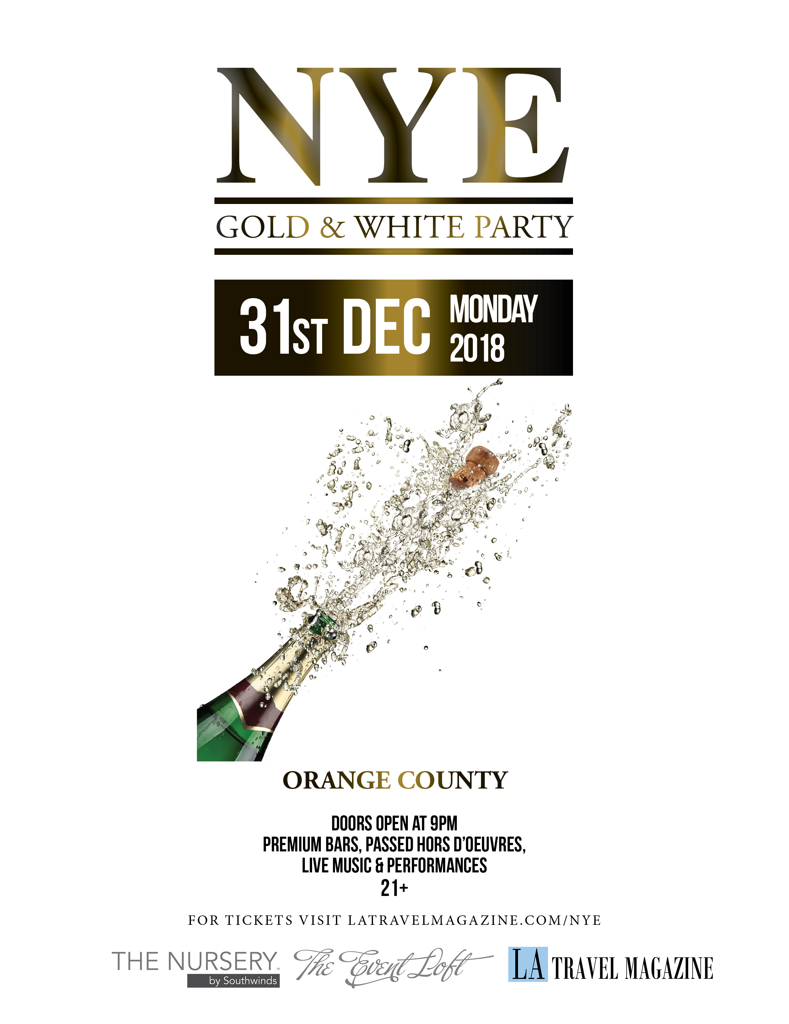 New Years Eve Orange County